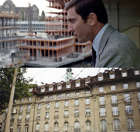 On Her Majestys Secret Service 1969 Bern Hotel Schweizerhof