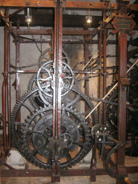 Inside the Zytglogge clock tower